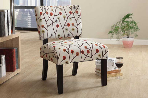 Accent Chair - Tree Pattern  IF-664