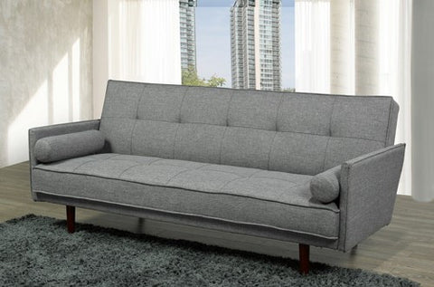 Sofa Bed - Grey, Brown or Purple Fabric  IF-8070 / 72 / 74