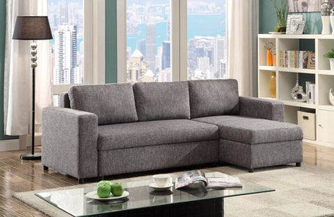 Sofa Bed Sectional Sofa with Reversible Chaise  IF-9410