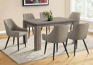 "DINING TABLE - 36""X 60"" / DARK TAUPE     MN-531055"
