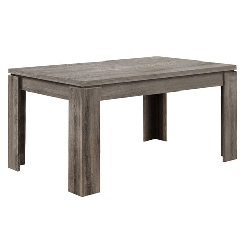 "DINING TABLE - 36""X 60"" / DARK TAUPE   I-1055"
