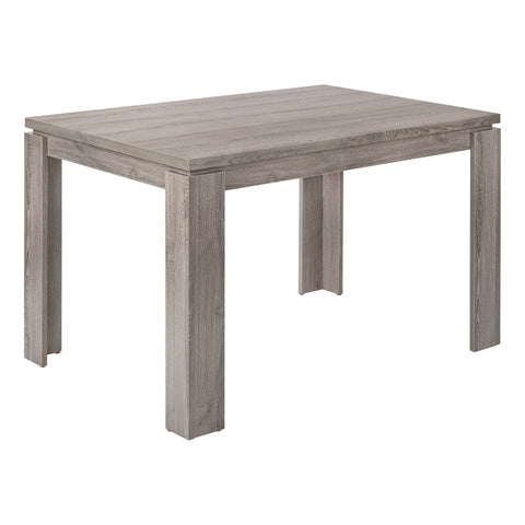 "DINING TABLE - 32""X 48"" / DARK TAUPE   MN-1161"
