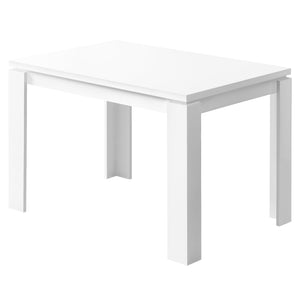 "DINING TABLE - 32""X 48"" / WHITE     MN-1162"