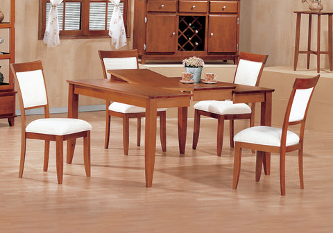 "DINING CHAIR - 2PCS / AMARETTO ""EURO"" STYLE   MN-1417"
