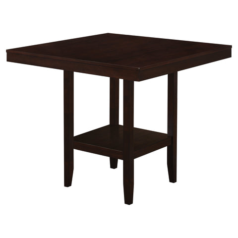 "DINING TABLE - 42""X 42"" / CAPPUCCINO COUNTER HEIGHT  I-1900"