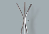 "COAT RACK - 72""H / SILVER METAL CONTEMPORARY STYLE   MN-2015"
