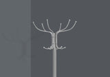"COAT RACK - 70""H / SILVER METAL WITH AN UMBRELLA HOLDER   MN-2032"