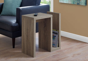 "ACCENT TABLE - 24""H / DARK TAUPE    MN-552090"