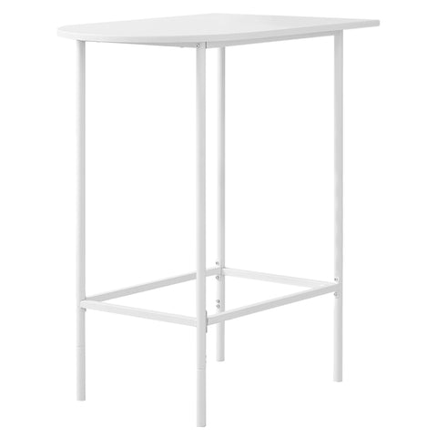 "HOME BAR - 24""X 36"" / WHITE TOP AND METAL SPACESAVER  MN-2376"