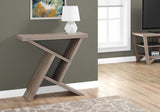 "ACCENT TABLE - 36""L / DARK TAUPE HALL CONSOLE   MN-2404"