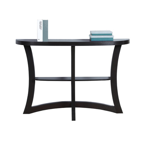 "ACCENT TABLE - 47""L / CAPPUCCINO HALL CONSOLE  MN-2415"