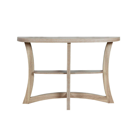 "ACCENT TABLE - 47""L / DARK TAUPE HALL CONSOLE  I-2416"