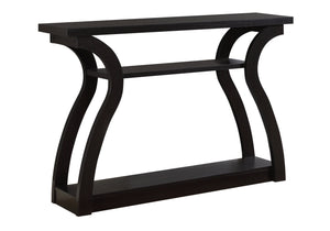 "ACCENT TABLE - 47""L / ESPRESSO HALL CONSOLE    MN-992445"