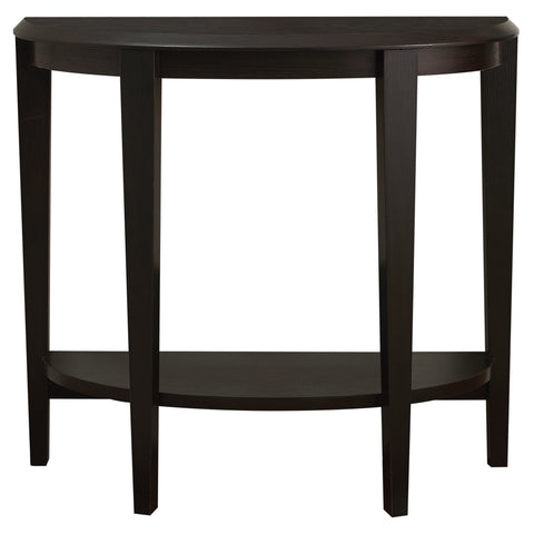 "ACCENT TABLE - 36""L / CAPPUCCINO HALL CONSOLE   MN-2450"