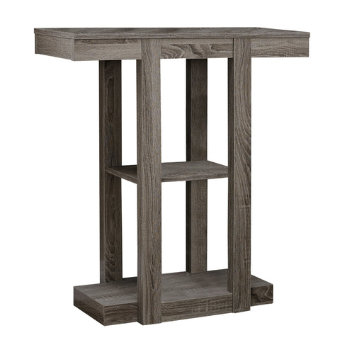 "ACCENT TABLE - 32""L / DARK TAUPE HALL CONSOLE   MN-2456"