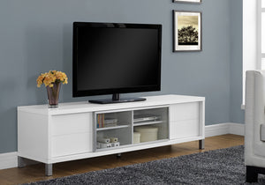 "TV STAND - 70""L / WHITE EURO STYLE    MN-342537"