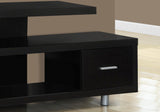 "TV STAND - 60""L / CAPPUCCINO WITH 1 DRAWER  MN-2572"