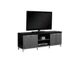 "TV STAND - 60""L / BLACK / GREY   I-2590"