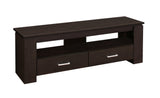 "TV STAND - 48""L / CAPPUCCINO WITH 2 STORAGE DRAWERS  MN-2600"