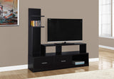 "TV STAND - 60""L / CAPPUCCINO WITH A DISPLAY TOWER   MN-2695"
