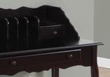 "COMPUTER DESK - 36""L / DARK CHERRY TRADITIONAL  MN-3100"