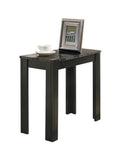ACCENT TABLE - BLACK / GREY MARBLE   MN-3112