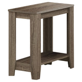 ACCENT TABLE - DARK TAUPE   I-3115