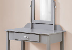 VANITY - GREY / MIRROR AND STORAGE DRAWER     MN-673327