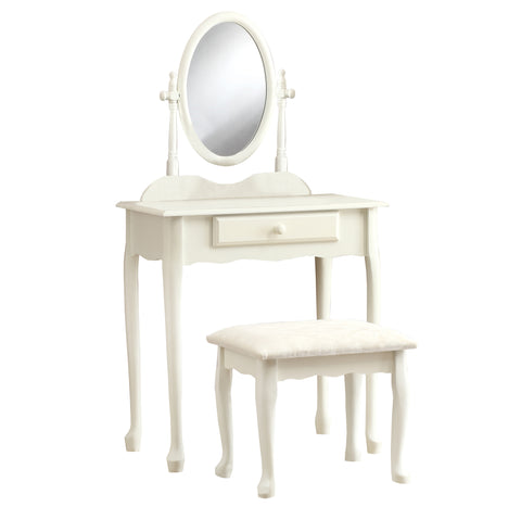 VANITY SET - 2PCS SET / ANTIQUE WHITE   MN-3412