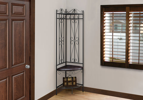 "BENCH - 72""H / COPPER METAL CORNER HALL ENTRY   MN-4548"
