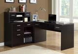 COMPUTER DESK - CAPPUCCINO LEFT OR RIGHT FACING CORNER  MN-7018