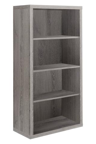 "BOOKCASE - 48""H / DARK TAUPE WITH ADJUSTABLE SHELVES  MN-7060"