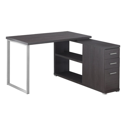 COMPUTER DESK - GREY LEFT OR RIGHT FACING CORNER  MN-7135
