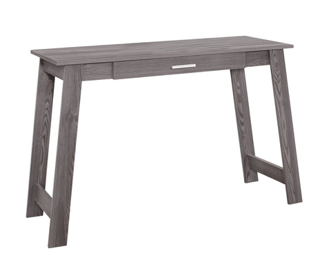 "COMPUTER DESK - 42""L / GREY WITH A STORAGE DRAWER  MN-7192"