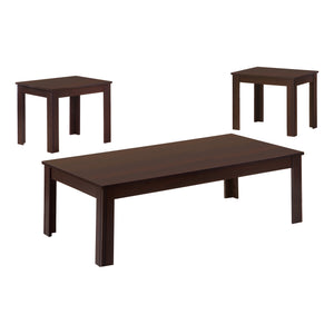 TABLE SET - 3PCS SET / ESPRESSO    MN-177842P