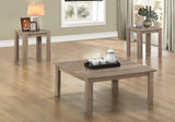 TABLE SET - 3PCS SET / DARK TAUPE    MN-7913P