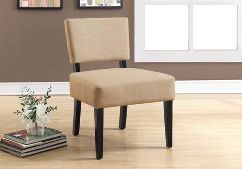 ACCENT CHAIR - BEIGE FABRIC   MN-8277