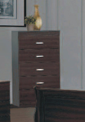 8 Pc Bedroom Set - Shadow Oak NB-112