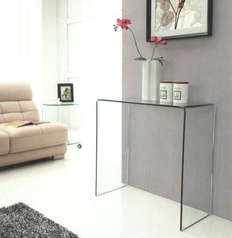 Rihanna Console Table - Modern Glass
