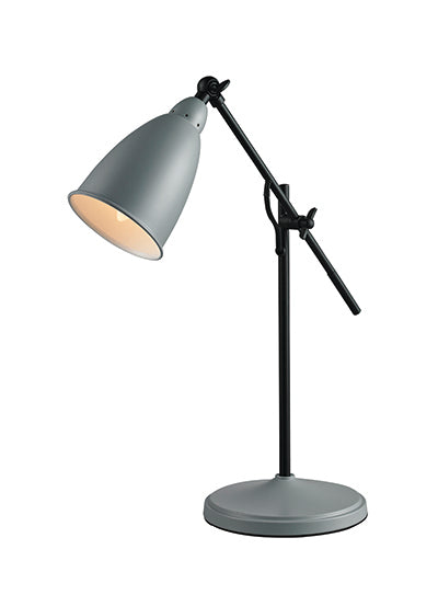 Table Lamp - Grey or Beige Metal - LL SLL105
