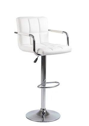 Bar Stool - White  ST-7733
