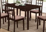 Dining Table Only, Wooden with Espresso Finish  T-1047 / 1048