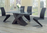 Dining Set with Black Chairs T-1092 | C-1785