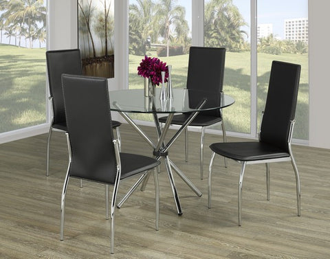 5 Pc Dining Set. Table and 4 Chairs