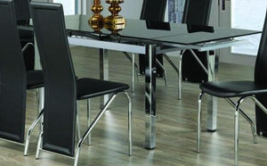 Dining Table Only - Adjustable Leaves T- 1505
