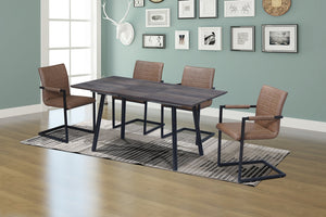 5Pc or 7Pc Dining Set - Extension Table  T-1814 | C-1837