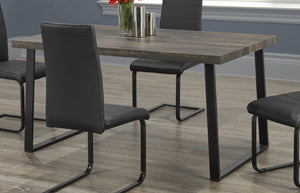 Table Only, Wood with V U Shape Legs T-1822