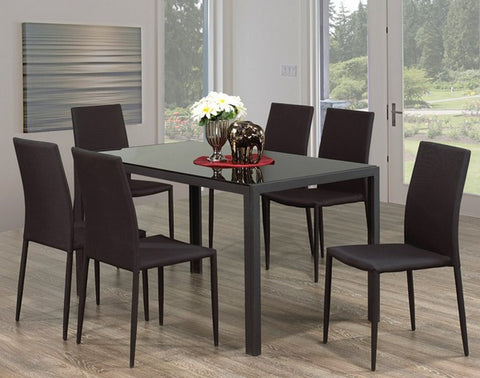 7Pc Dining Set T-5054 | C-1007B