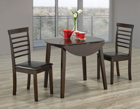 3Pc Dining Set - Drop Leaf T-Toronto C-1011