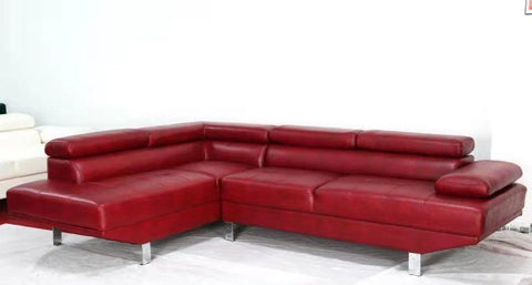 Sectional Sofa - Red, White or Black- BOL Vienna